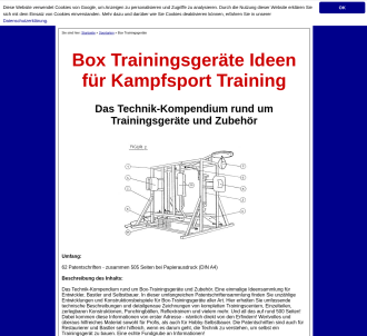 Box Trainingsgeräte Technik