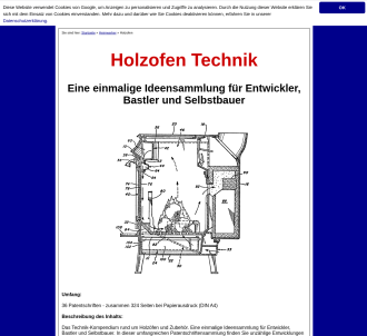 Holzofen Technik