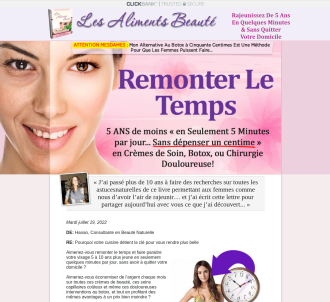 Les Aliments Beaute - Beauty Of Food (in French) Is Here!!