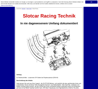 Slotcar Racing Technik