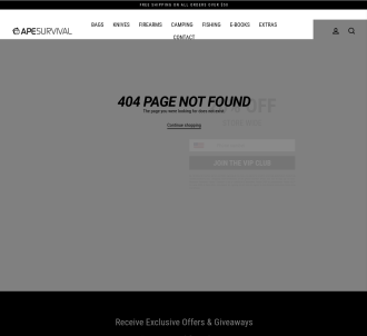 Ape Survival - Choose From 10 Survival And Self-defense Products