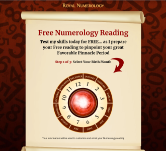Royal Numerology - New 2020 Salescopy