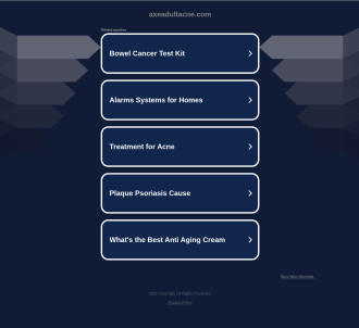 Axe Adult Acne E-book