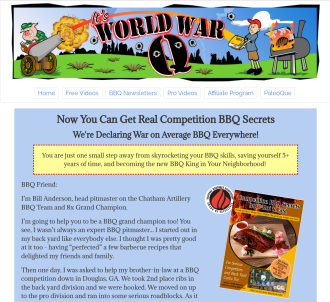 Competition Bbq Secrets 300 Deg Hot & Fast