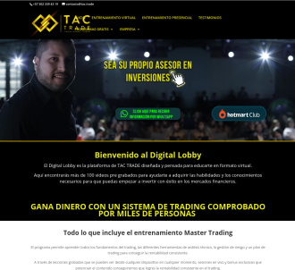 Membresía Digital Lobby Tac Trade