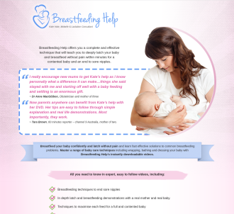 Breastfeeding Help And Baby Care For New Parents
