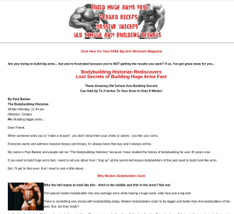 Muscle Building Get Huge Arm Muscles Fast Bodybuilding