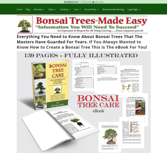 The Bonsai Tree Care System