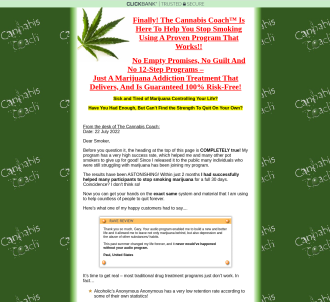Cannabis Coach Quit Smoking Marijuana Audio Program
