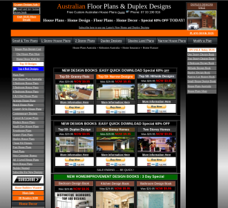 Australian House Plans, Home Deisgns And Home Improvement