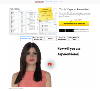 Keyword Researcher - SEO Software / Finds Long Tail Keywords