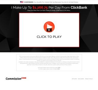 Commission Code - Incredible New Bizopp Offer - Insane Epcs!