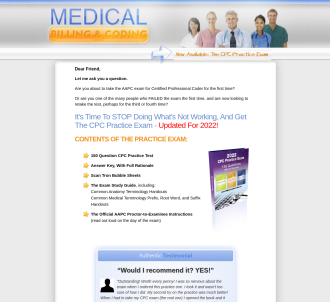 CPC Practice Exam - Medical Coding Study Guide