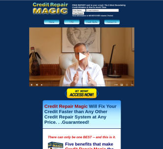 Credit Repair Magic Now Pays $50.58 On Every Sale!