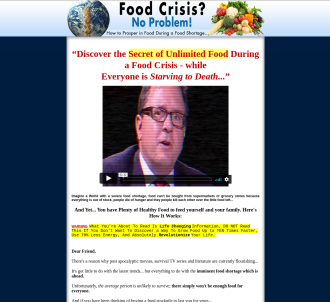 Brand New Food Crisis Survival - 12% Insane Conversion