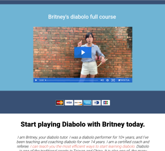 Master Diabolo In 30 Days With Britney Cheng!! Hot! New!!