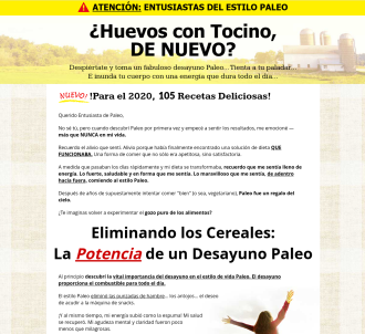 Spanish Version Of Paleo Breakfast Bible