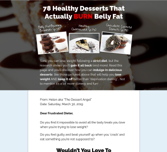 The Dessert Angel - Healthy Desserts Cookbook