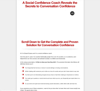 Conversation Confidence: 75% Initial Plus 50% Recurring Commission