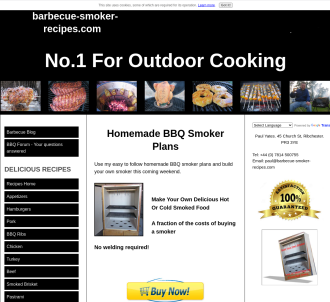 Build Your Own Barbecue Smoker