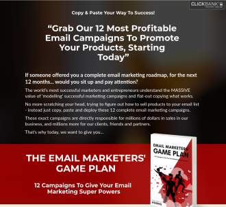 The Email Marketers  Game Plan