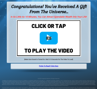 Prosperity Miracles - Hottest Offer That Converts With Cold Traffic