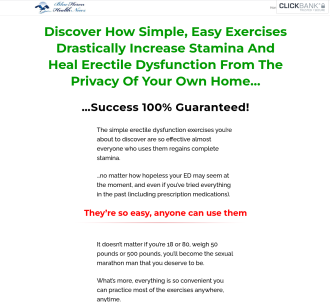 Cure Erectile Dysfunction - Blue Heron Health News