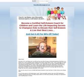 Self-esteem Elevation For Children Coaching Certification