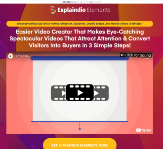 Explaindio Elements Video App