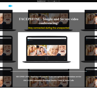 Facephone - Zoom-like Video Conferencing Service - Huge Commissions!