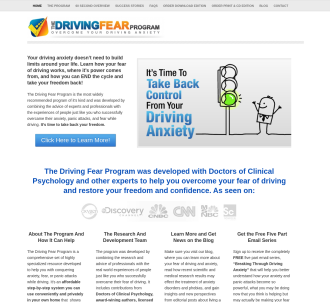 Driving Fear Program - High Conversions & Huge Commissions!