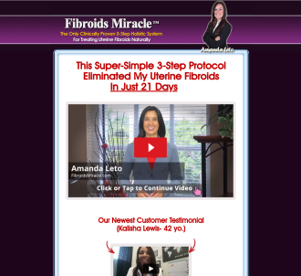 Fibroids Miracle(tm):*$46/sale* ~ A New Conversion Monster