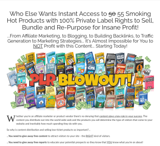 PLR Blowout