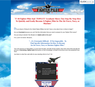 Become A Fighter Pilot - Step By Step Instruction