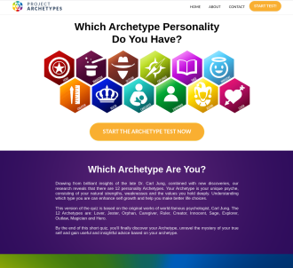 Project Archetypes /w Hyper-personalization Conversion Hack