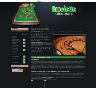 Roulette Checkmate, Number Prediction Software For Rng / Live Dealer