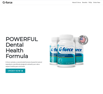 Gforce Teeth & Gums: Bite With Confidence