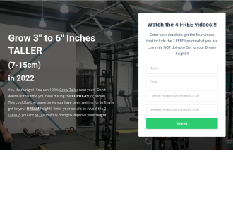 How To Grow Taller . Number 1# Membership Site In This Niche