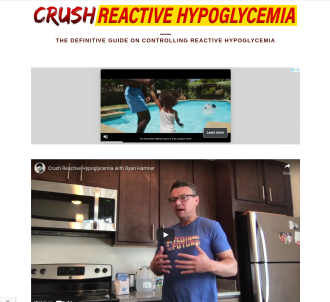 Crush Reactive Hypoglycemia