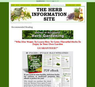 The Practical Herb Garden Information Guide