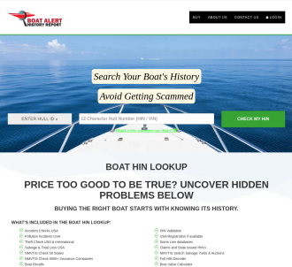 Cheap Boat Title History Report