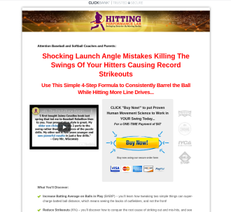 Pitch-plane Domination Online Hitting Video Mini-course
