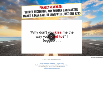 Weird Kissing Program Creates Massive Conversions For Female Traffic