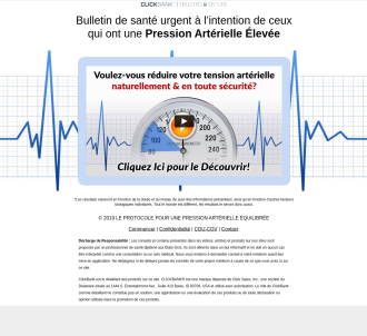 Protocole Contre Hypertension - French Blood Pressure Protocol