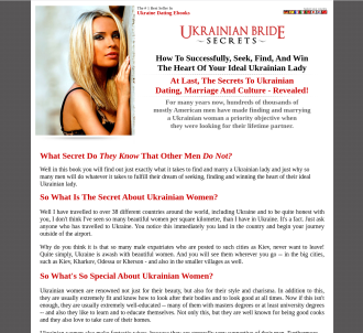 So You Want To Marry A Ukrainian Lady - A Guide To Ukrainian Dating