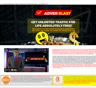 Unlimited Traffic Daily, 100% Open Ratio Earn 100% Commissions