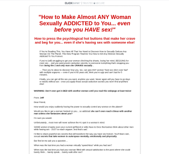 Secrets Of Sexual Addiction