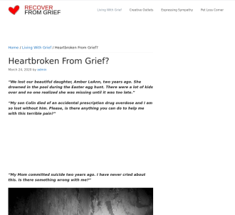 Back To Life! A Personal Grief Guidebook