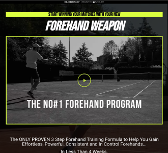 Turn Your Forehand Into A Weapon - Ultimate Online Tennis Course