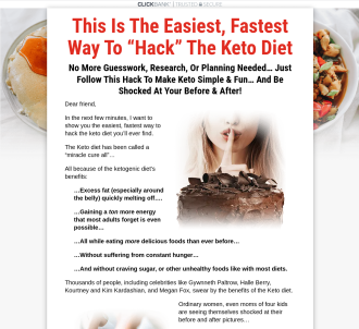The Keto Shortcut System - Hot Offer!